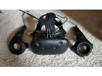 HTC Vive Virtual Reality Headset With Roomscale - In Original Box - Excellent Condition