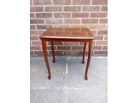 Small table, veneered wood