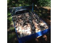Barn stored seasoned hardwood logs/firewood