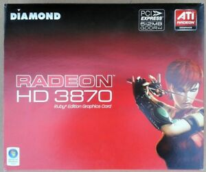 Carte Video ATI Radeon HD 3870