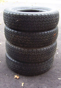 SET OF 4 TIRES - EXCELLENT CONDITION (LIKE NEW)
