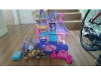 Fisher Price Disney Princess Castle Set plus Carriage