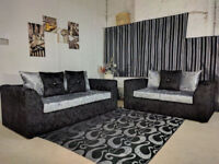 BRAND NEW JULIE CRUSH VELVET CORNER SOFA AT A REDUCED PRICE WITH EXPRESS DELIVERY!!!