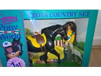 Cassey Pony World Cross Country Set Boxed