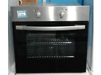 O709 stainless steel & black cda single electric oven comes with warranty can be delivered