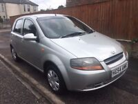 04-54 Daewoo Kalos Xtra Cool with 1 Former Keeper service history and ***34000*** miles