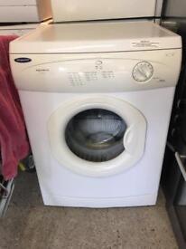 White Hotpoint Tumble Dryer Vented VGC £50 Sittingbourne