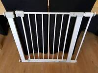 Safety first pressure stair gate with extension