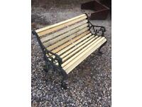 Victorian garden furniture bench. Free delivery