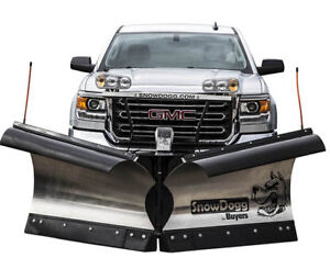 PRE SEASON SALE SAVE $1000'S  All plows are stainless steel, gor