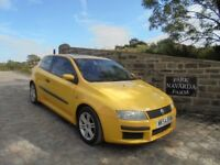 Fiat Stilo Active Sport In Yellow, 2004 54 reg, Service History, MOT August 2018 With No Advisories