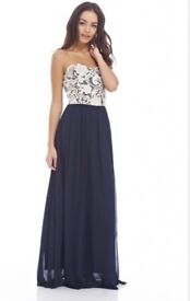 Size 10 AX Paris prom dress/evening dress/maxi dress