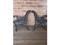 Cast Iron Bench Ends