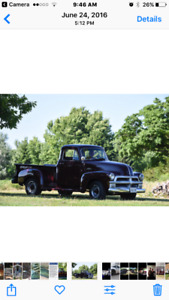 Excellent condition 1954 Chevrolet 5 window pickup 3100