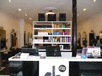 Hairstylist self-employed Glasgow's West End