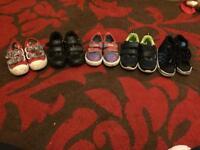 Bundle of size 5 boys shoes