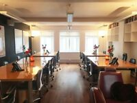 SOHOST #Groworking - Dedicated desks available in Soho W1