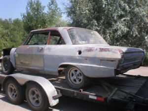 1964 Chevy II Nova Gasser,  Pro Street  Project? FREE DELIVERY
