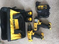 Dewalt 10.8v twin pack drill and impact driver