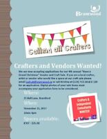 Crafters, Artists and Vendors Wanted