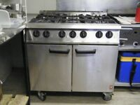 Falcon Dominator 6 Ring Gas Cooker