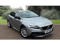 Volvo V40 2.0TD D2 ( 120bhp ) ( s/s ) 2017MY Cross Country Pro ELECTRIC SILVER