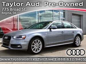 2015 Audi A4 2.0T Progressiv LOCAL, NAVIGATION, KEYLESS ENTRY...