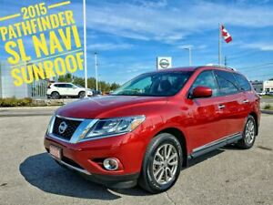 2015 Nissan Pathfinder SL Navigation Sunroof  FREE Delivery