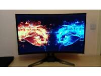 Acer 31.5 inch 144Hz curved FreeSync widescreen monitor XZ321Q