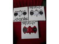 3 fidget spinners brand new in box
