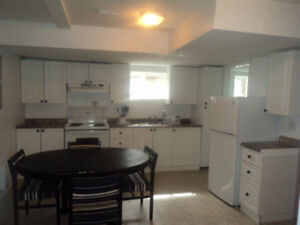 ! Bedroom Basement Apartment Available September 1