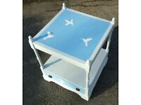 Shabby Chic Table/Bedside Cabinet