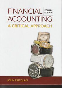 Financial Accounting: A Critical Approach with Access Card