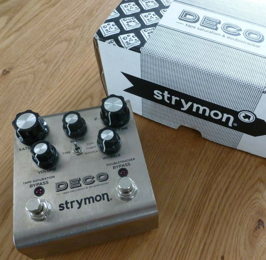 Boutique Effects Pedals: Strymon, Blackout Effectors, Mojo Hand, EHX, Star Touch