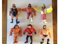 Wwf / Wwe Hasbro Wrestling Figures Lot 4