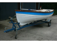 15ft Rowing /Fishing Boat with purpose built trailer