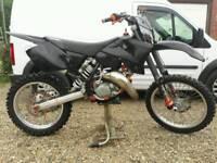 KTM SX 125 MOTOCROSS BIKE RELIABLE, TIDY EXAMPLE SX 250 CR YZ KX RM 2 STROKE