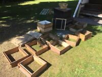 Bee hives and bee keeping equipment