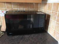 LG Black MH3467E Microwave