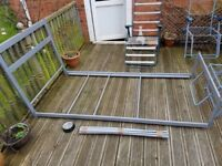 Metal Bed Frame - Single - Used three times