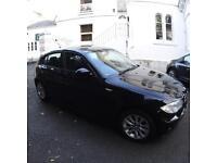 BMW 116i Black Manual 5 Door
