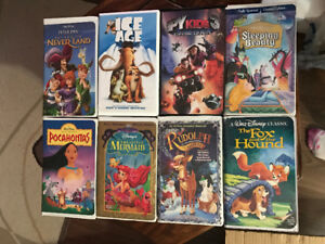 VHS Disney and other