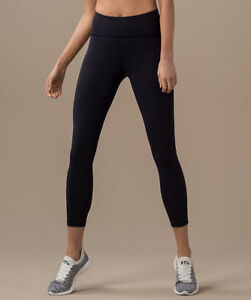 Lululemon Train Times 7/8 Pant Legging - Size 2 - BNWOT - Black