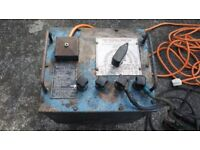 ONE PICKHILL BANTAM WELDER. 30 - 180 AMP ARC WELDER, OIL COOLED