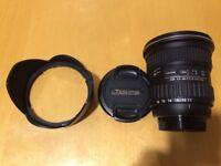 Tokina AT-X Pro 11-16mm f/2.8 DX lens for Nikon