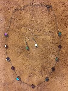 Necklace and earring set $15 OBO