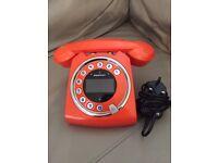 RETRO SAGEMCOM SIXTY ORANGE TELEPHONE LAND LINE PHONE
