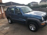 Jeep Cherokee 2.4 sport 4x4 11 months mot Exceptional for year