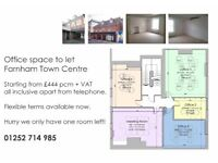 Office space to let in Farnham Town Centre