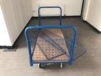 Rapid racking trolley